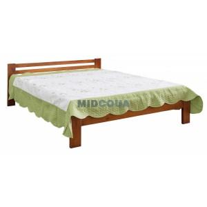 Кровать деревянная с ламелями
